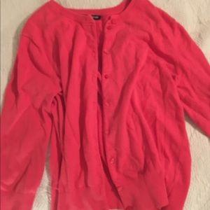Basic Pink Cardigan